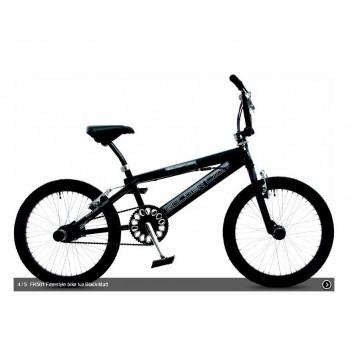 """BMX Kinderfiets 20"""" Golden Lion Freestyle Black Matt"""