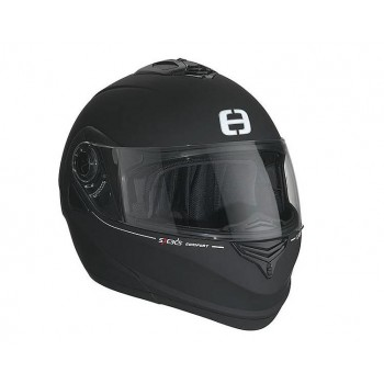 Helm Speeds Systeem Flip-Up Comfort Soft Touch Zwart