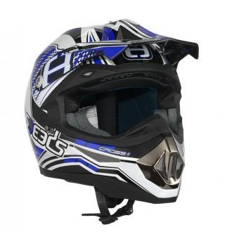 Helm Speeds Cross ll Graphic Blauw