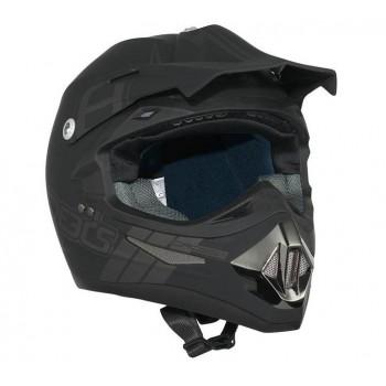 Helm Speeds Cross ll Mat Zwart