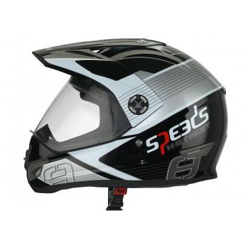 Helm Speeds X-Street Graphic Titanium