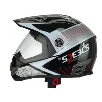 Helm Speeds X-Street Graphic Rood