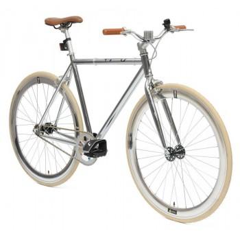 Retro Style Fiets Cheatah Bikes 28'' Heren Chroom