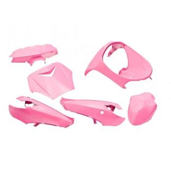 Kappenset Edge Peugeot Vivacity 6 Delig Pink Roze