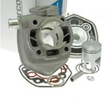 Cilinder Motoforce 50cc Minarelli Horizontaal Aluminium Waterkoeling