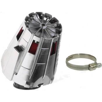 Luchtfilter Malossi E5 38 mm Chroom Schuin