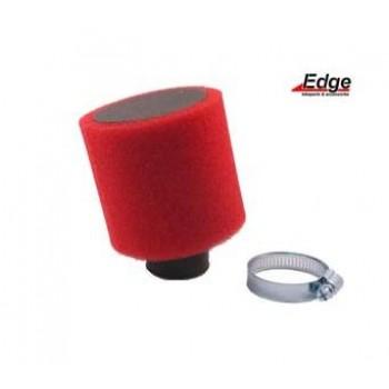 Luchtfilter Edge Rood 28/35 mm Schuin