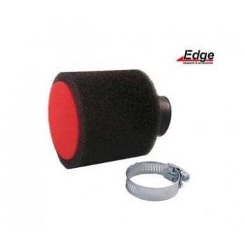 Luchtfilter Edge Zwart 28/35 mm Schuin