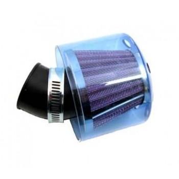 Luchtfilter Edge Blauw Met Kap 35 mm