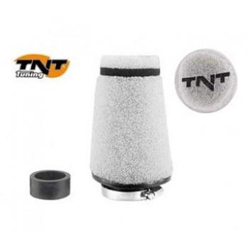 Luchtfilter TNT Klein 28/35 mm Wit