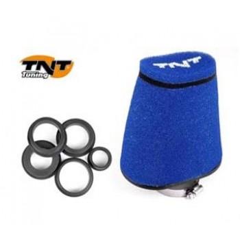 Luchtfilter TNT Groot 28/55 mm Blauw