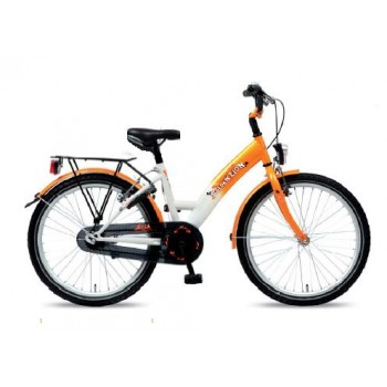 "Kinderfiets 22"" Golden Lion Girls Snow White / Orange"
