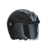 Helm Speeds Jet Sportief Zwart / Silver