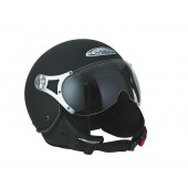 Helm Speeds Jet Fashion Soft Touch Zwart