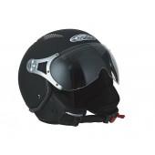 Helm Speeds Jet Air Speed Fashion Soft Touch Zwart