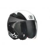 Helm Speeds Jet City Speed Zwart / Wit