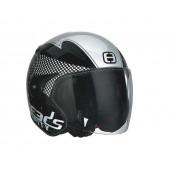 Helm Speeds Jet City Speed Zwart / Zilver