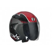 Helm Speeds Jet City Speed Zwart / Rood