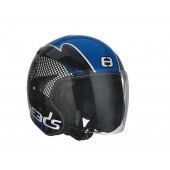 Helm Speeds Jet City Speed Zwart / Blauw