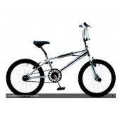 "BMX Kinderfiets 20"" Golden Lion Freestyle Chroom"