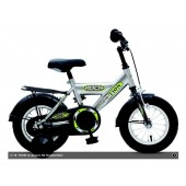 "Kinderfiets 12"" Golden Lion Boys Shadow Silver"