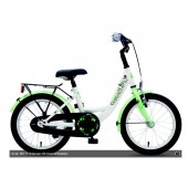 "Kinderfiets 16"" Golden Lion Girls Snow White / Green"