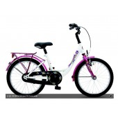"Kinderfiets 18"" Golden Lion Girls Snow White"