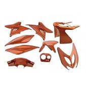 Kappenset Edge Yamaha Aerox 9 Delig Flip Flop Oranje