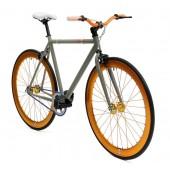 Retro Style Fiets Cheatah Bikes 28'' Heren Grijs / Oranje