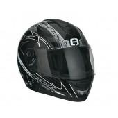 Helm Speeds integraal Race Graphic Zilver