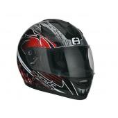 Helm Speeds integraal Race Graphic Rood