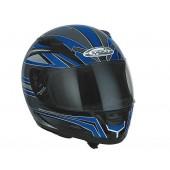 Helm Speeds integraal Evolution II Graphic Blauw