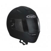 Helm Speeds integraal University Soft Touch Zwart