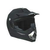 Helm Speeds Cross Mat Zwart