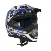 Helm Speeds Cross ll Graphic Blauw