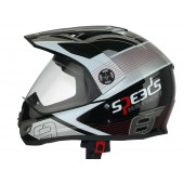 Helm Speeds X-Street Graphic Rood
