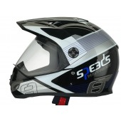 Helm Speeds X-Street Graphic Blauw