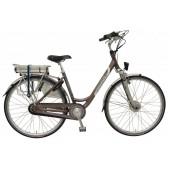 Elektrische fiets Bikkel Dames Ibee T2 Nexus 7V 14,5A Taupe