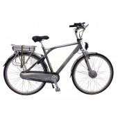 Elektrische fiets Bikkel Heren Ibee T3 Nexus 8V 14,5A Titanium