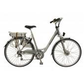Elektrische fiets Bikkel Dames Ibee S1 Derailleur 7V 14,5A Silver / Platinum