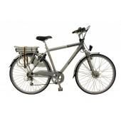 Elektrische fiets Bikkel Heren Ibee S1 Derailleur 7V 14,5A Silver / Platinum
