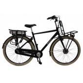 Elektrische fiets Bikkel Ibee Dotcom Heren Nexus 3V 14,5A Satin black