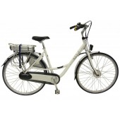 Elektrische fiets Bikkel Ibee Mama Dames Nexus 7V 14,5A White with coloured bubbles