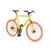 Retro Style Fiets Cheatah Bikes 28'' Heren Geel / Oranje