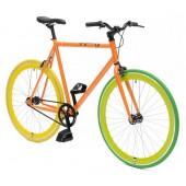 Retro Style Fiets Cheatah Bikes 28'' Heren Oranje / Groen