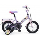 "Kinderfiets 12"" Princess Girls Roze"