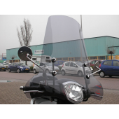 Windscherm Ecoline Kymco Like Smoke Hoog Model